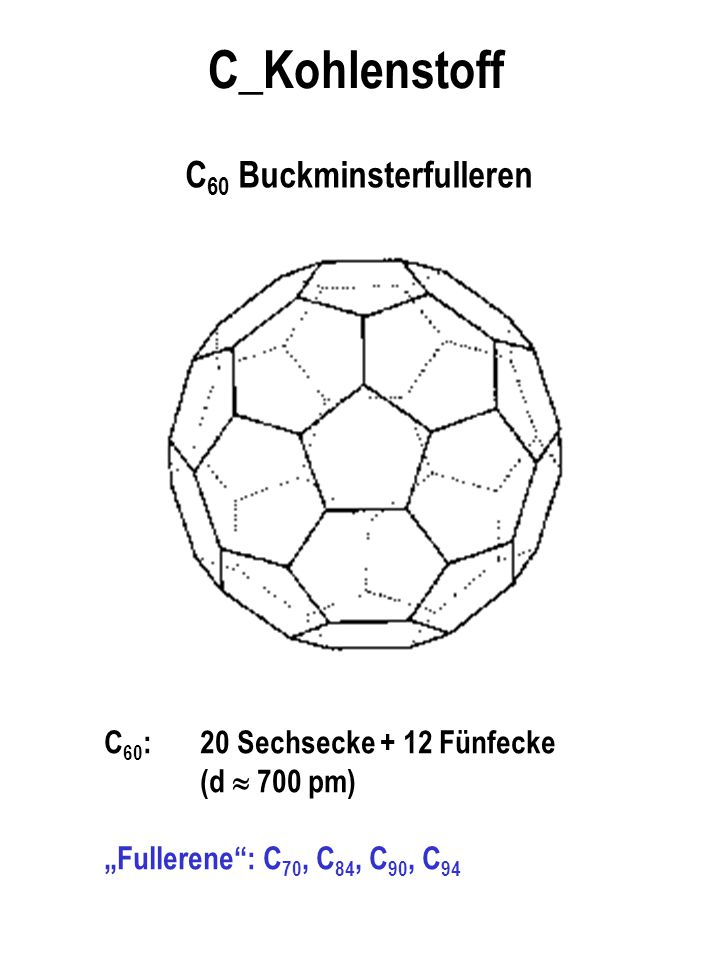 C60 Buckminsterfulleren