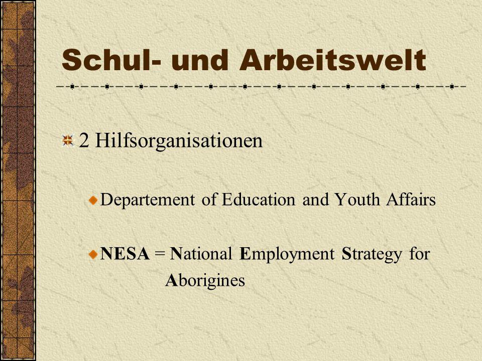 Schul- und Arbeitswelt