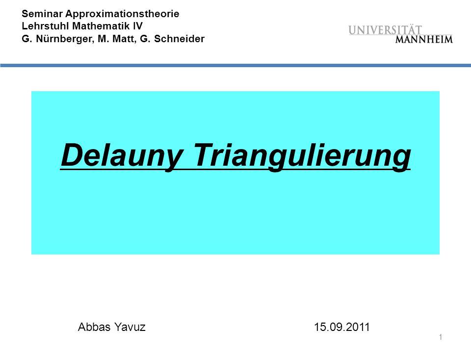 Delauny Triangulierung