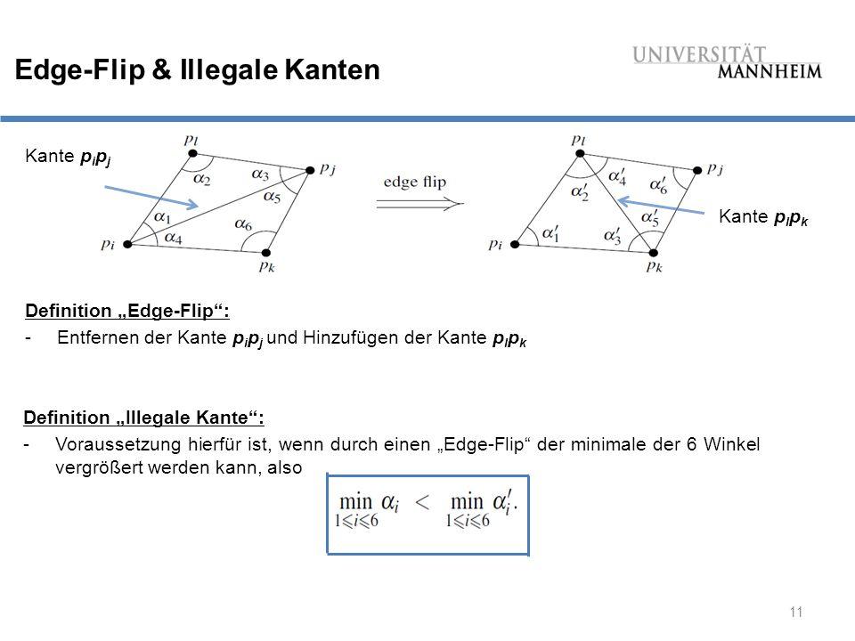 Edge-Flip & Illegale Kanten