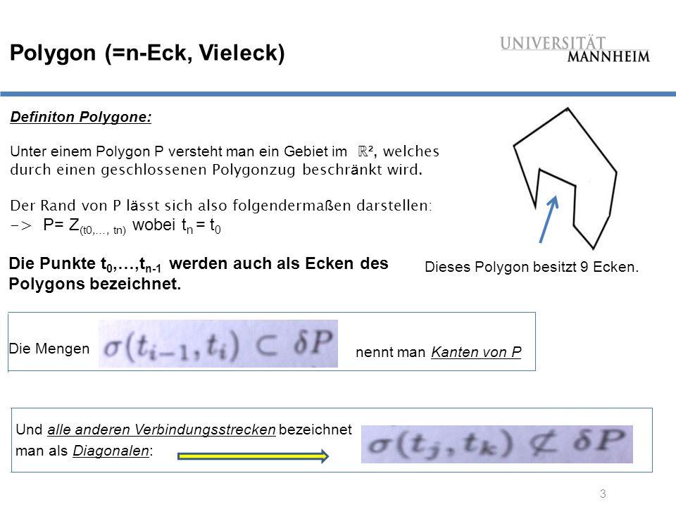 Polygon (=n-Eck, Vieleck)
