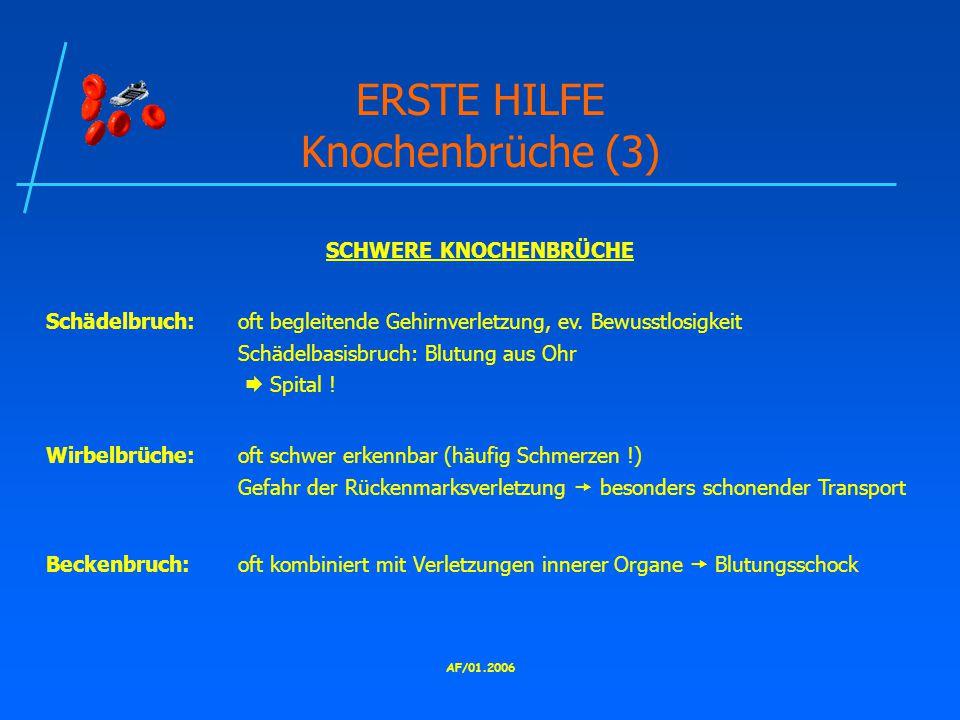 ERSTE HILFE Knochenbrüche (3)