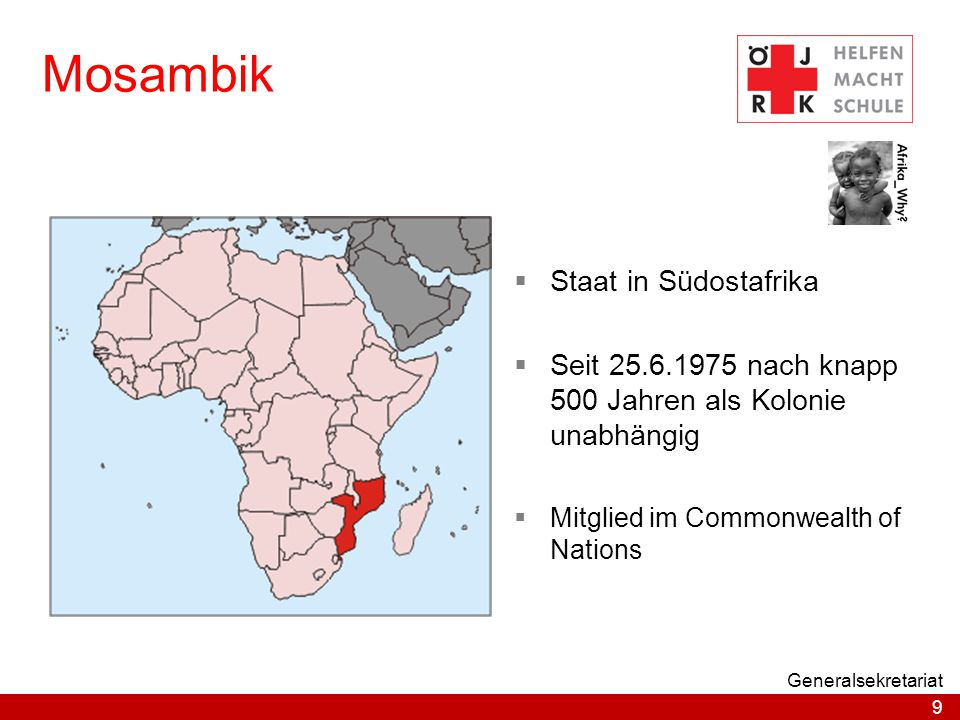 Mosambik Staat in Südostafrika