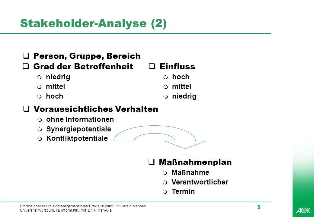 Stakeholder-Analyse (2)