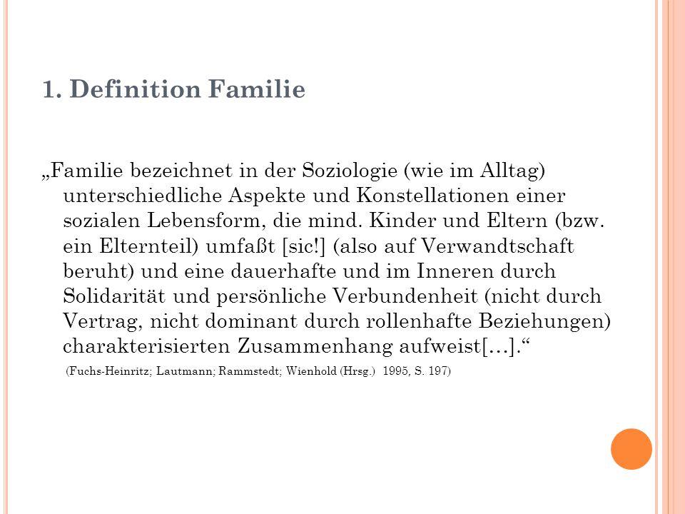 1. Definition Familie