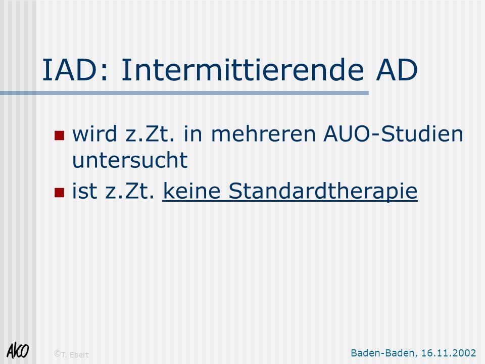 IAD: Intermittierende AD