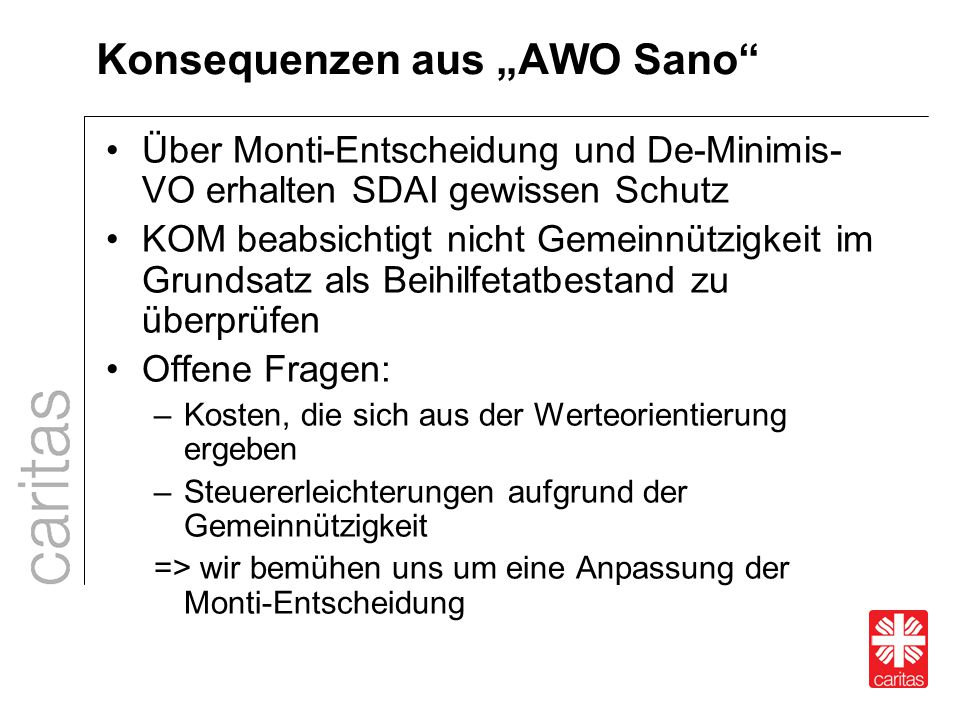 """Konsequenzen aus """"AWO Sano"""