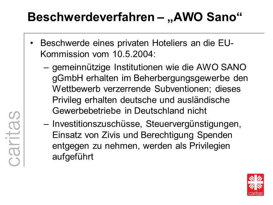 """Beschwerdeverfahren – """"AWO Sano"""