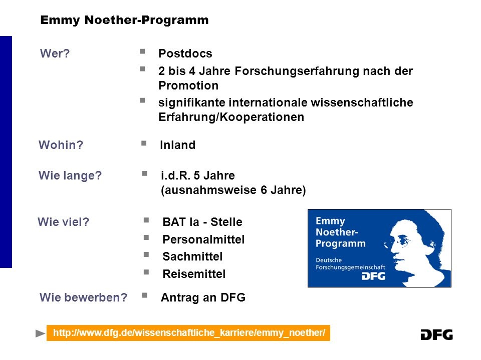 Emmy Noether-Programm