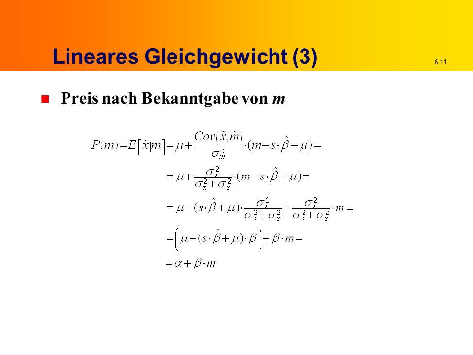 Lineares Gleichgewicht (3)