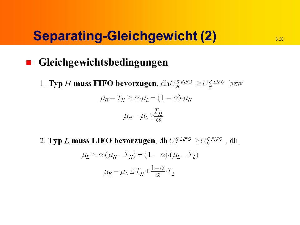 Separating-Gleichgewicht (2)
