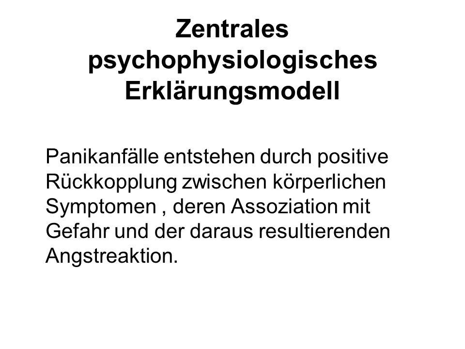 Zentrales psychophysiologisches Erklärungsmodell