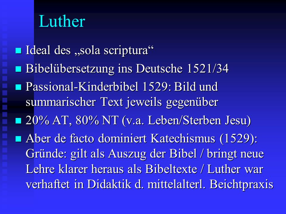 "Luther Ideal des ""sola scriptura"