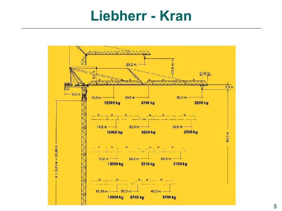 Liebherr - Kran