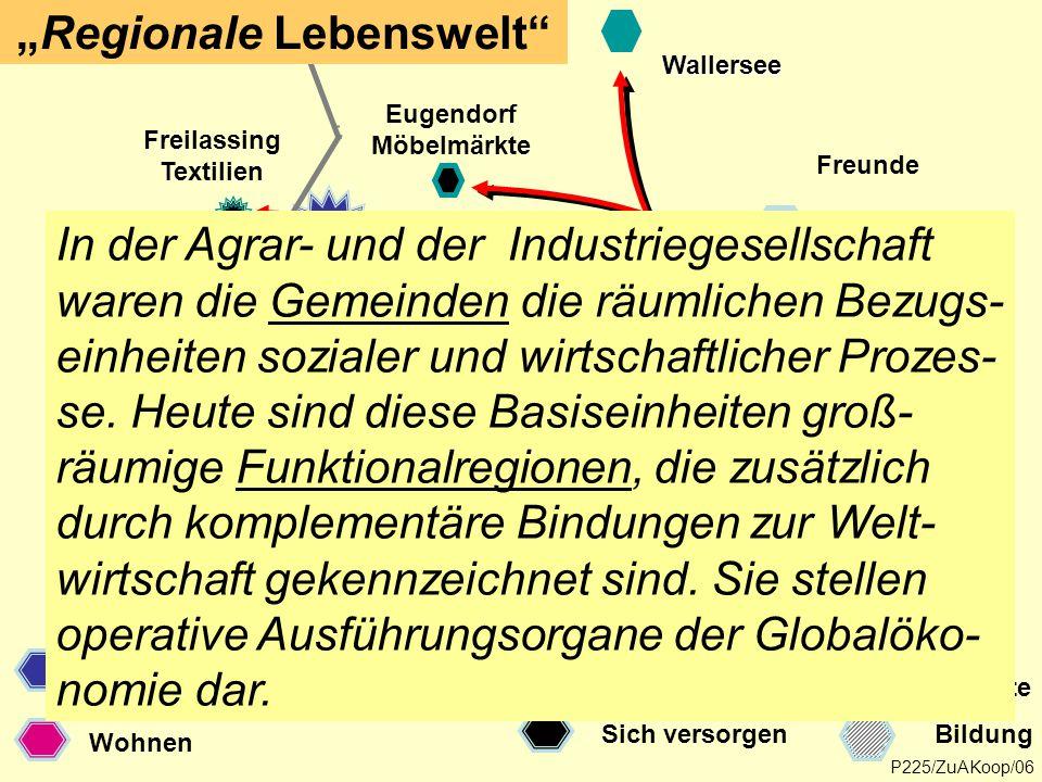 """Regionale Lebenswelt"