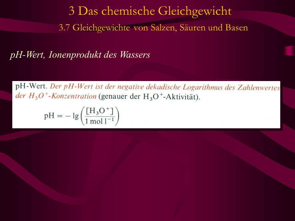 3 Das chemische Gleichgewicht 3