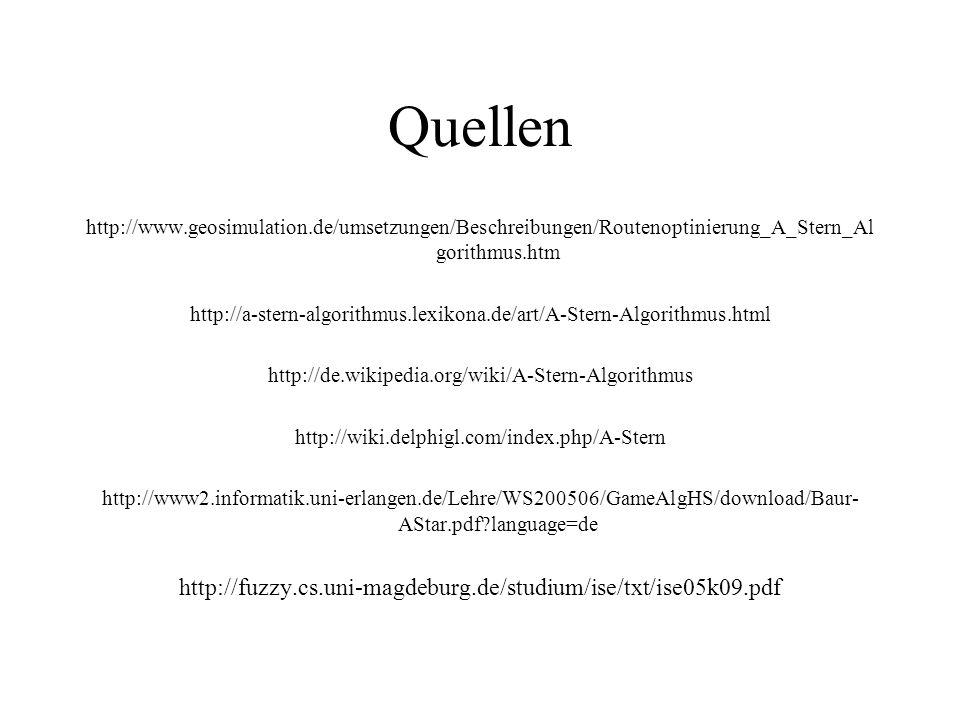 Quellen http://fuzzy.cs.uni-magdeburg.de/studium/ise/txt/ise05k09.pdf