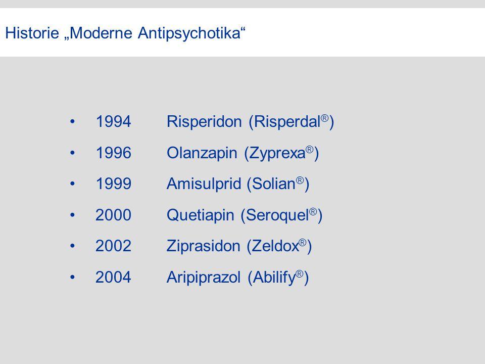 """Historie """"Moderne Antipsychotika"""