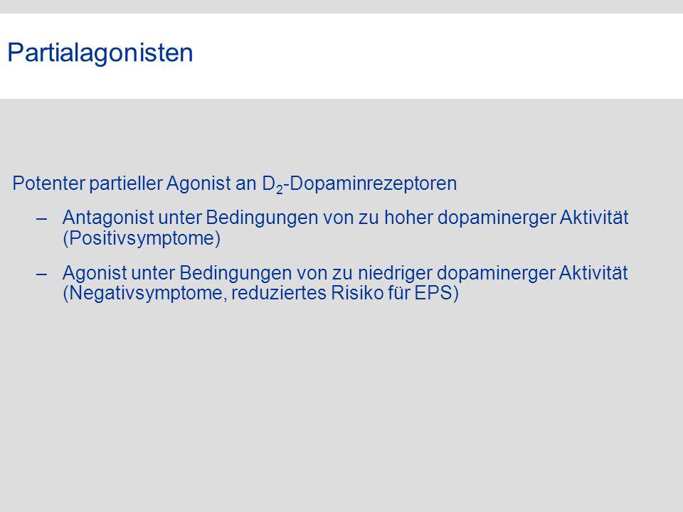 Partialagonisten VG. Potenter partieller Agonist an D2-Dopaminrezeptoren.