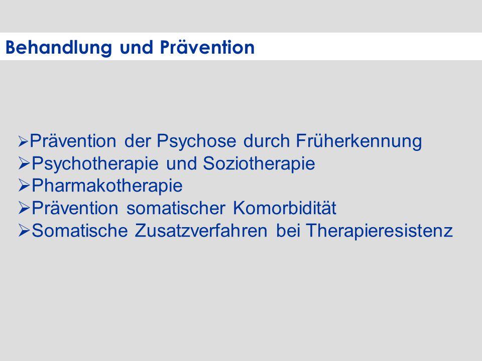 Behandlung und Prävention