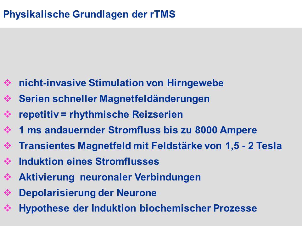 Physikalische Grundlagen der rTMS