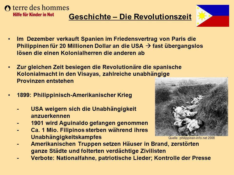 Geschichte – Die Revolutionszeit