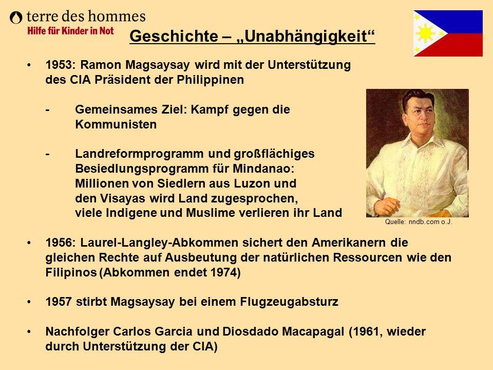 """Geschichte – """"Unabhängigkeit"""