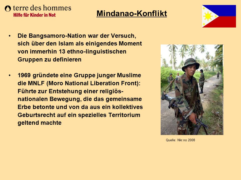 Mindanao-Konflikt