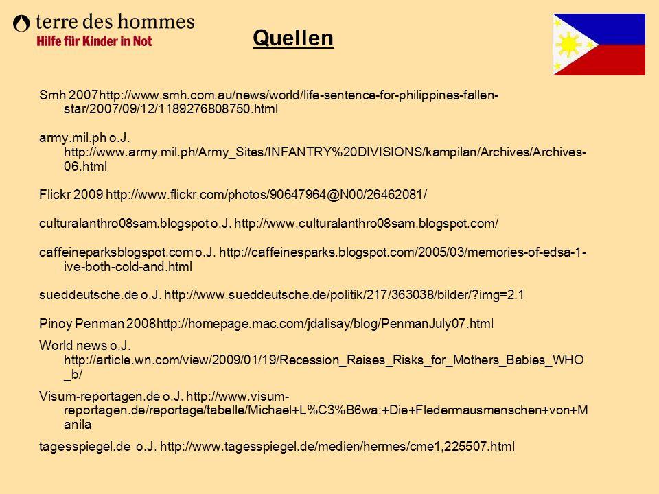 Quellen Smh 2007http://www.smh.com.au/news/world/life-sentence-for-philippines-fallen-star/2007/09/12/1189276808750.html.