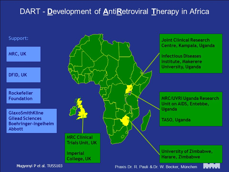 DART - Development of AntiRetroviral Therapy in Africa