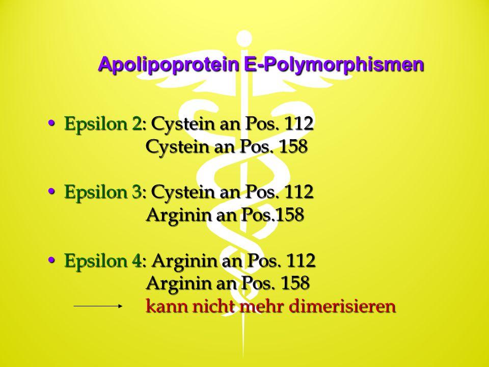 Apolipoprotein E-Polymorphismen