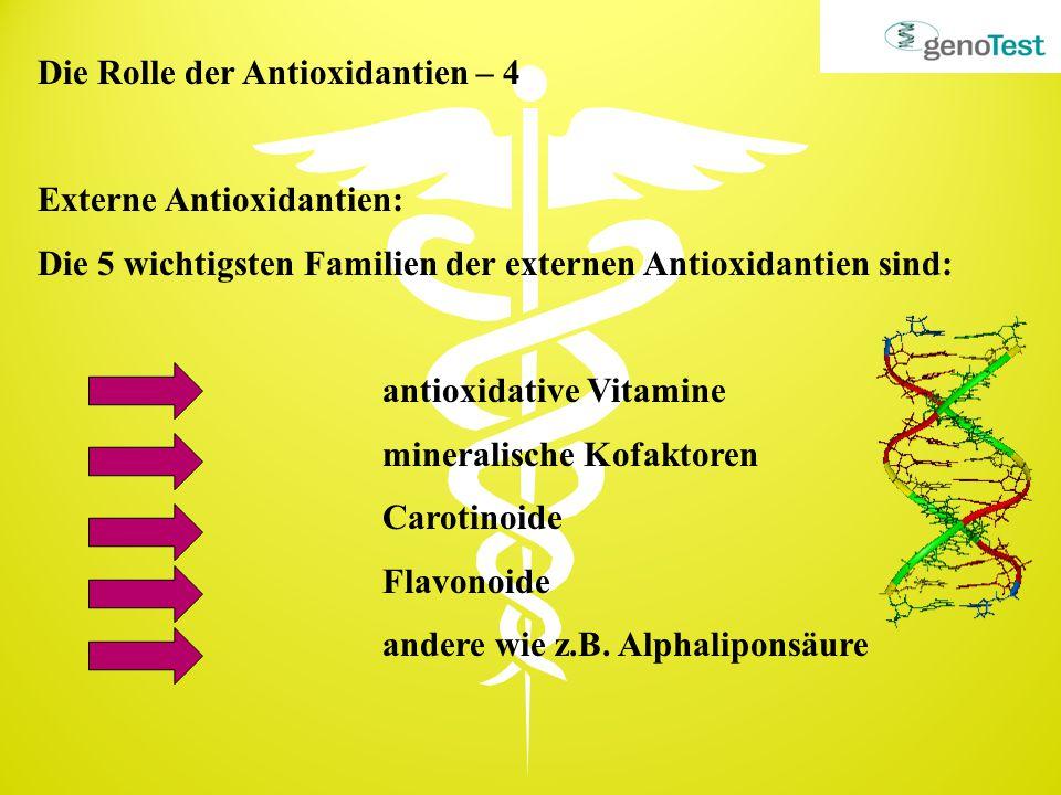 Die Rolle der Antioxidantien – 4
