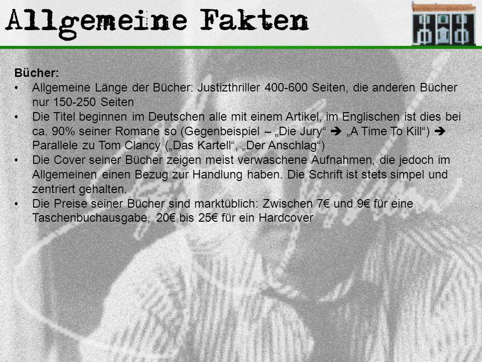 Allgemeine Fakten Bücher: