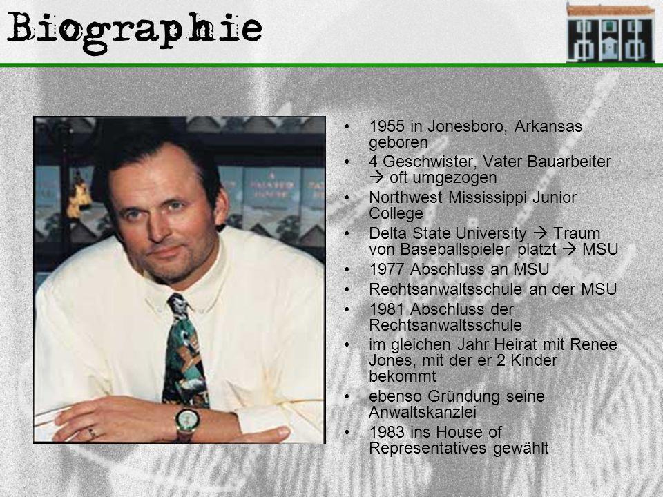 Biographie 1955 in Jonesboro, Arkansas geboren