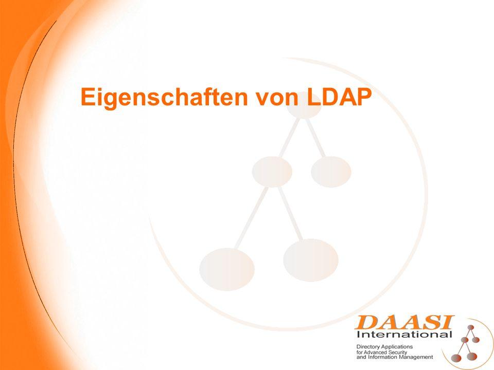 Eigenschaften von LDAP