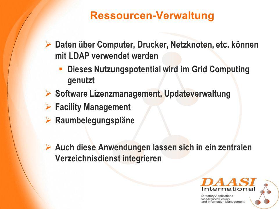 Ressourcen-Verwaltung