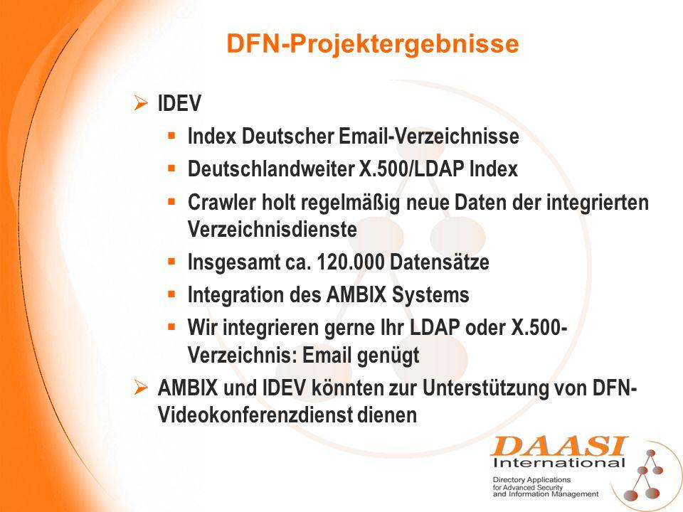 DFN-Projektergebnisse