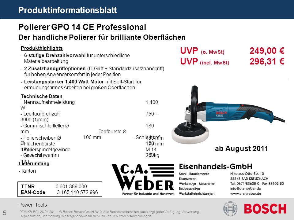 UVP (o. MwSt) 249,00 € UVP (incl. MwSt) 296,31 €