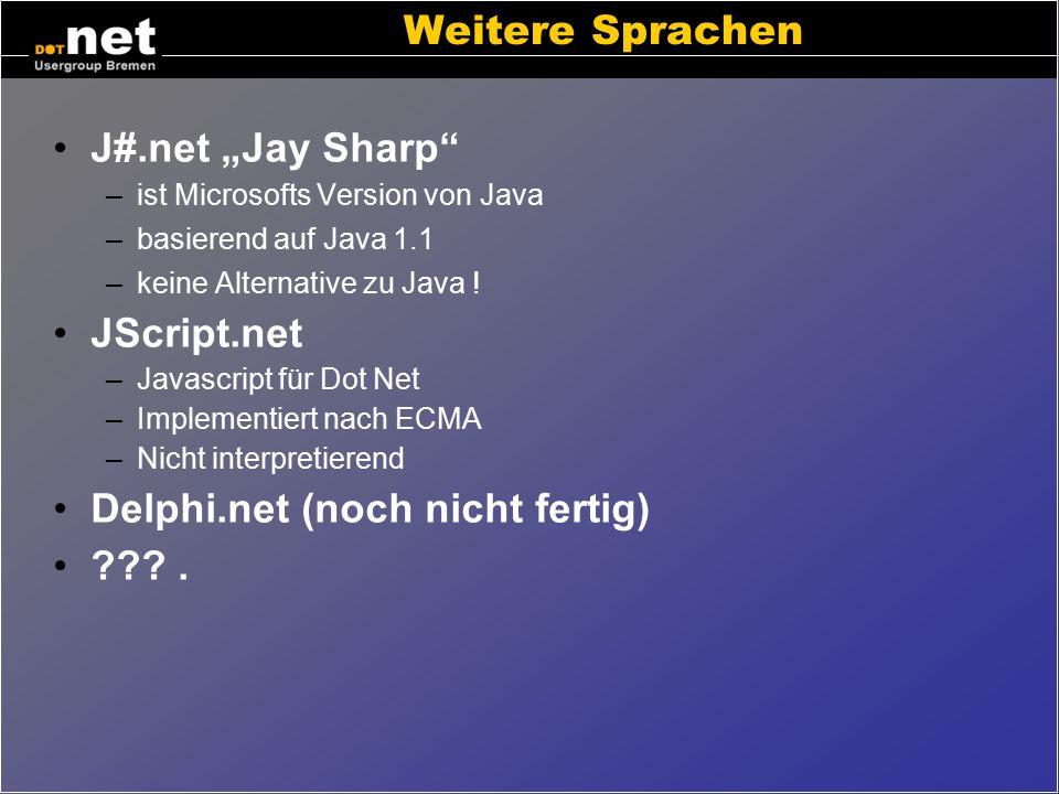 Delphi.net (noch nicht fertig) .