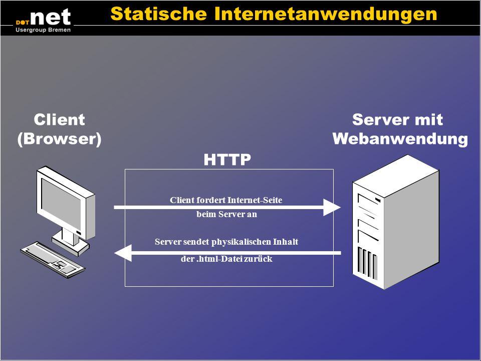 Statische Internetanwendungen