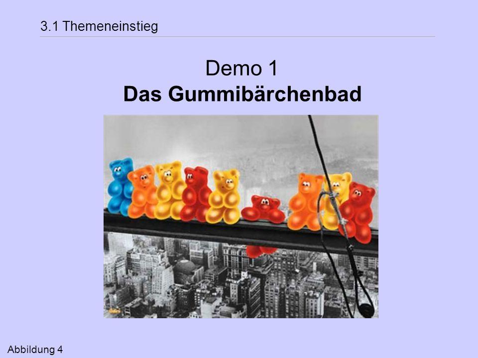 3.1 Themeneinstieg Demo 1 Das Gummibärchenbad Abbildung 4