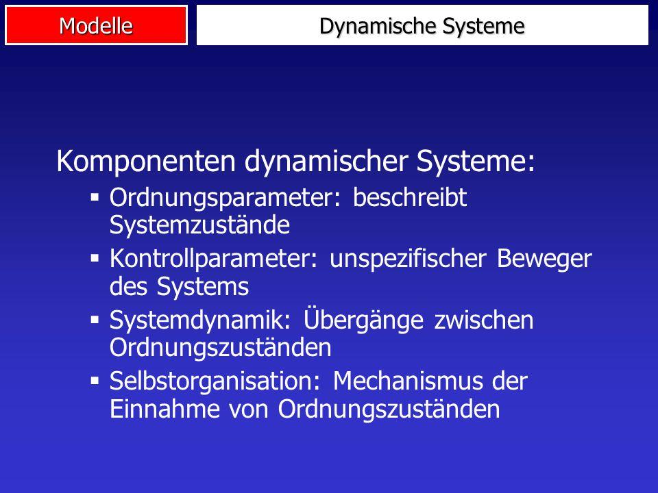 Komponenten dynamischer Systeme: