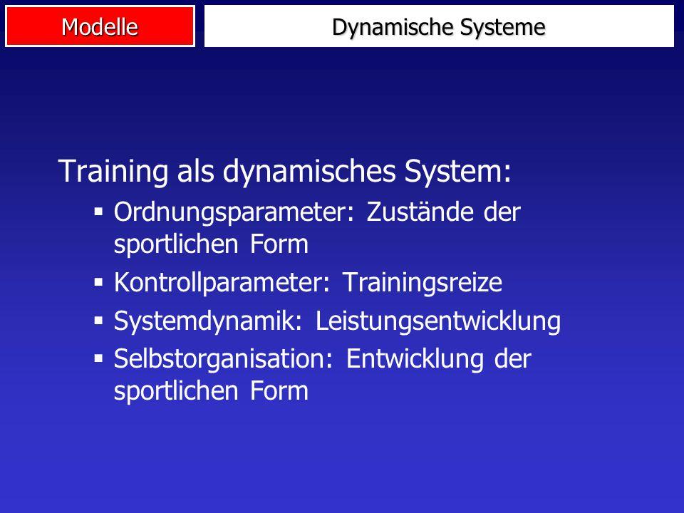 Training als dynamisches System: