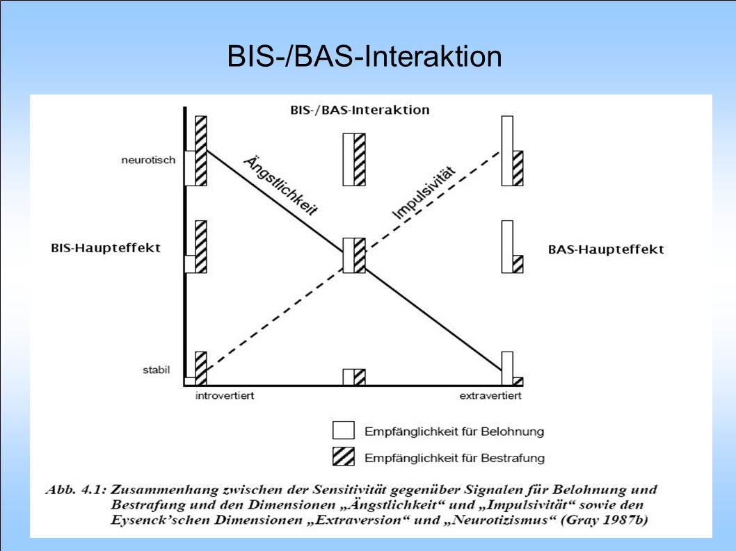 BIS-/BAS-Interaktion