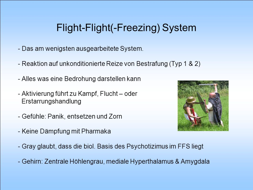 Flight-Flight(-Freezing) System