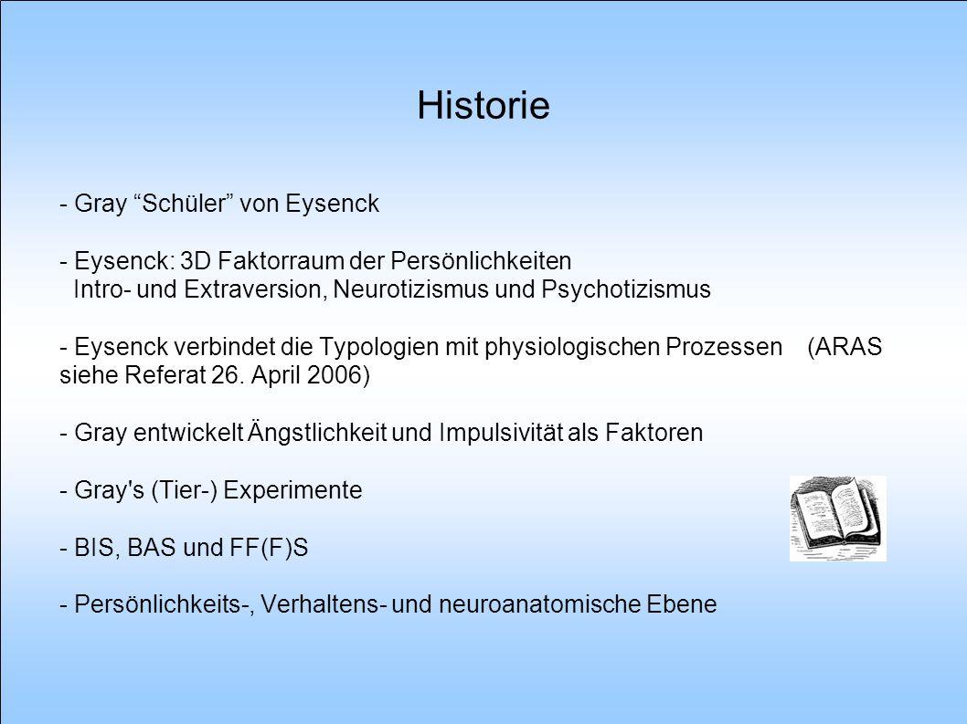 Historie - Gray Schüler von Eysenck