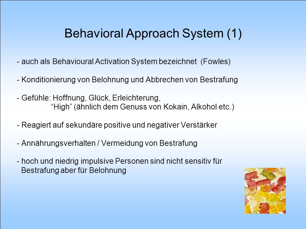 Behavioral Approach System (1)