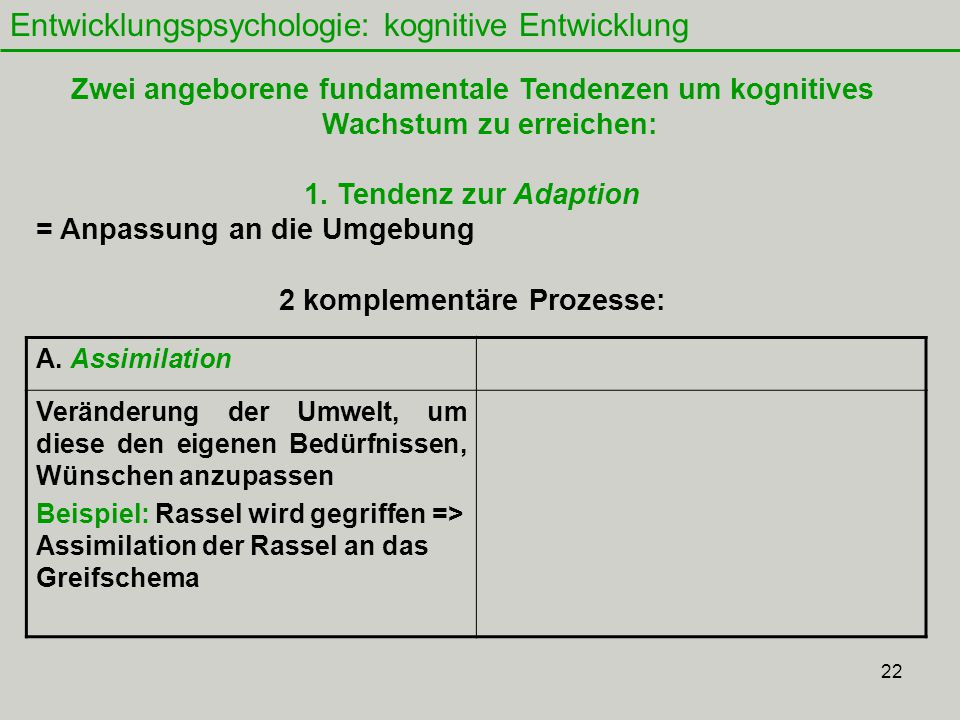 2 komplementäre Prozesse: