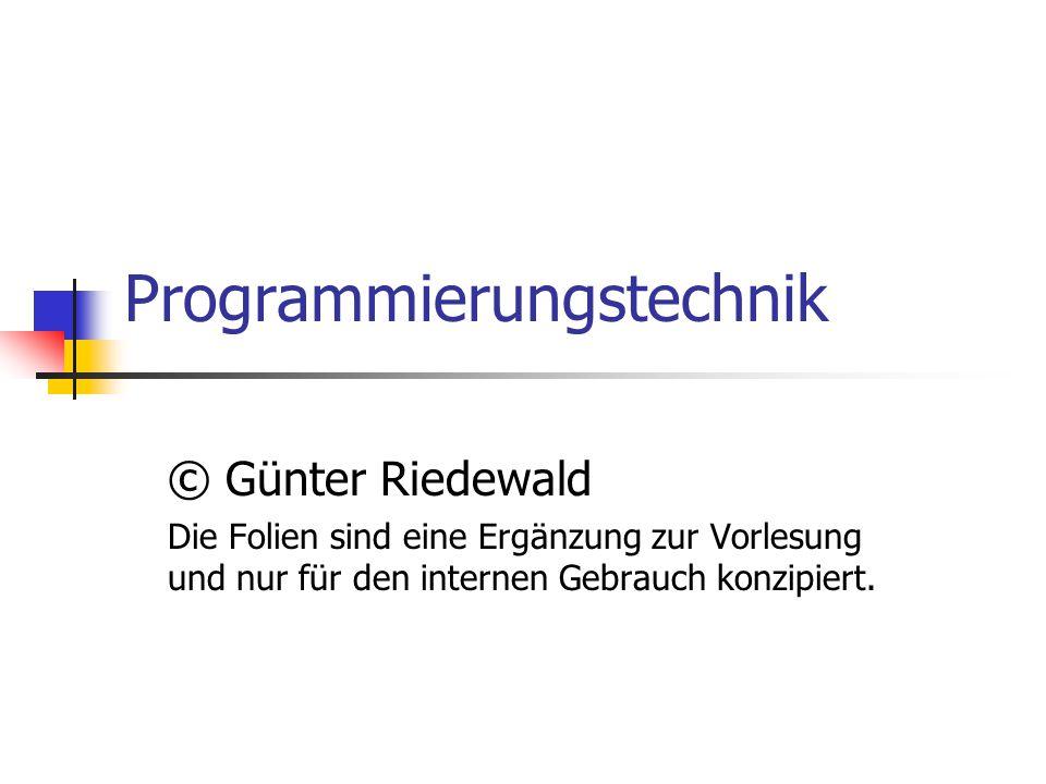 Programmierungstechnik