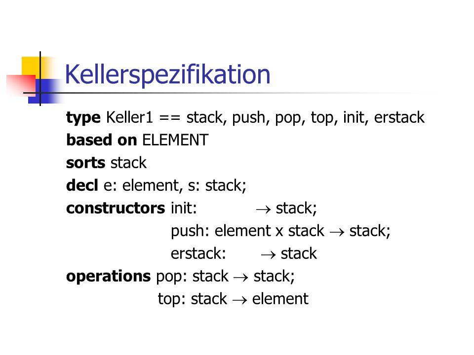 Kellerspezifikation